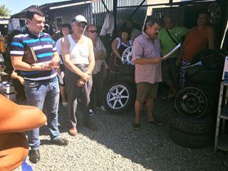 Підприємці закарпатського авторечового ринку Кінчеш на межі бунту (фото)