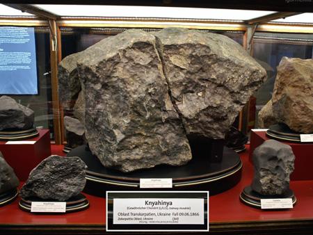 """Сьогодні виповнилося 154 роки з дня падіння на Закарпатті метеорита """"Княгиня"""""""