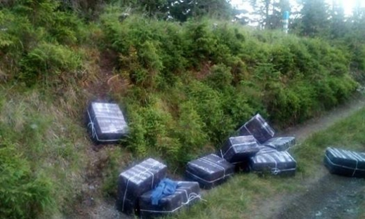 Прикордонники Мукачівського загону попередили спробу контрабанди майже 6000 пачок сигарет