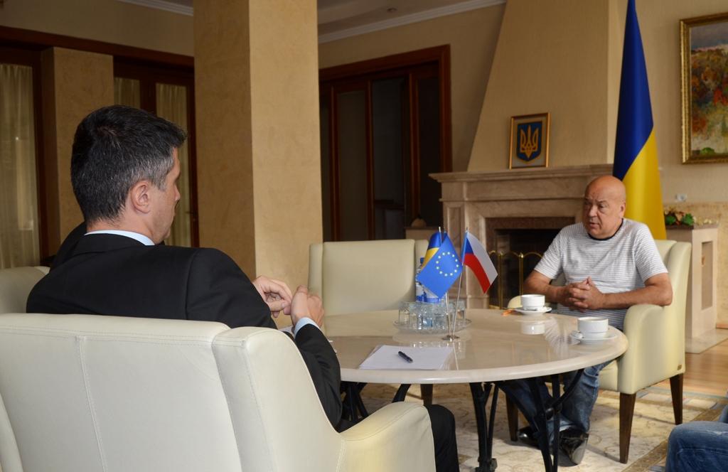 Москаль пропонує Чехії відкрити консульську установу в Ужгороді
