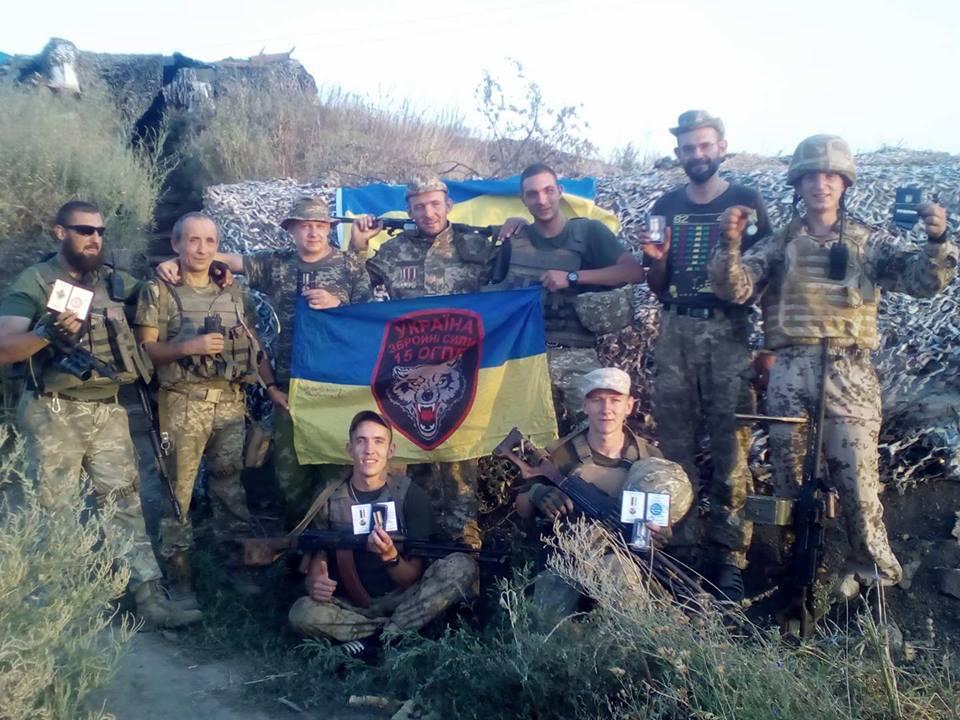До Дня Незалежності 15 батальйон отримав нагороди та волонтерську допомогу (фото)