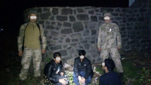 На Ужгородщині затримали трьох нелегальних мандрівників з Бангладешу