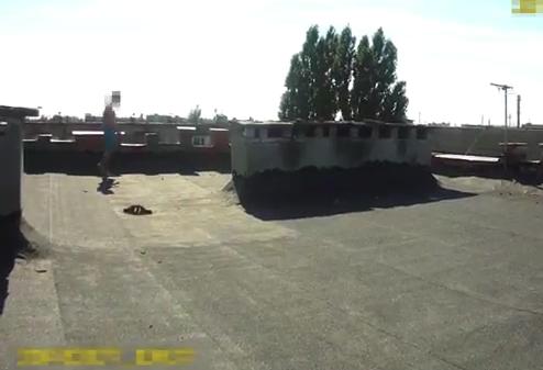 Відео розмови ужгородського патрульного з потенційним самогубцем