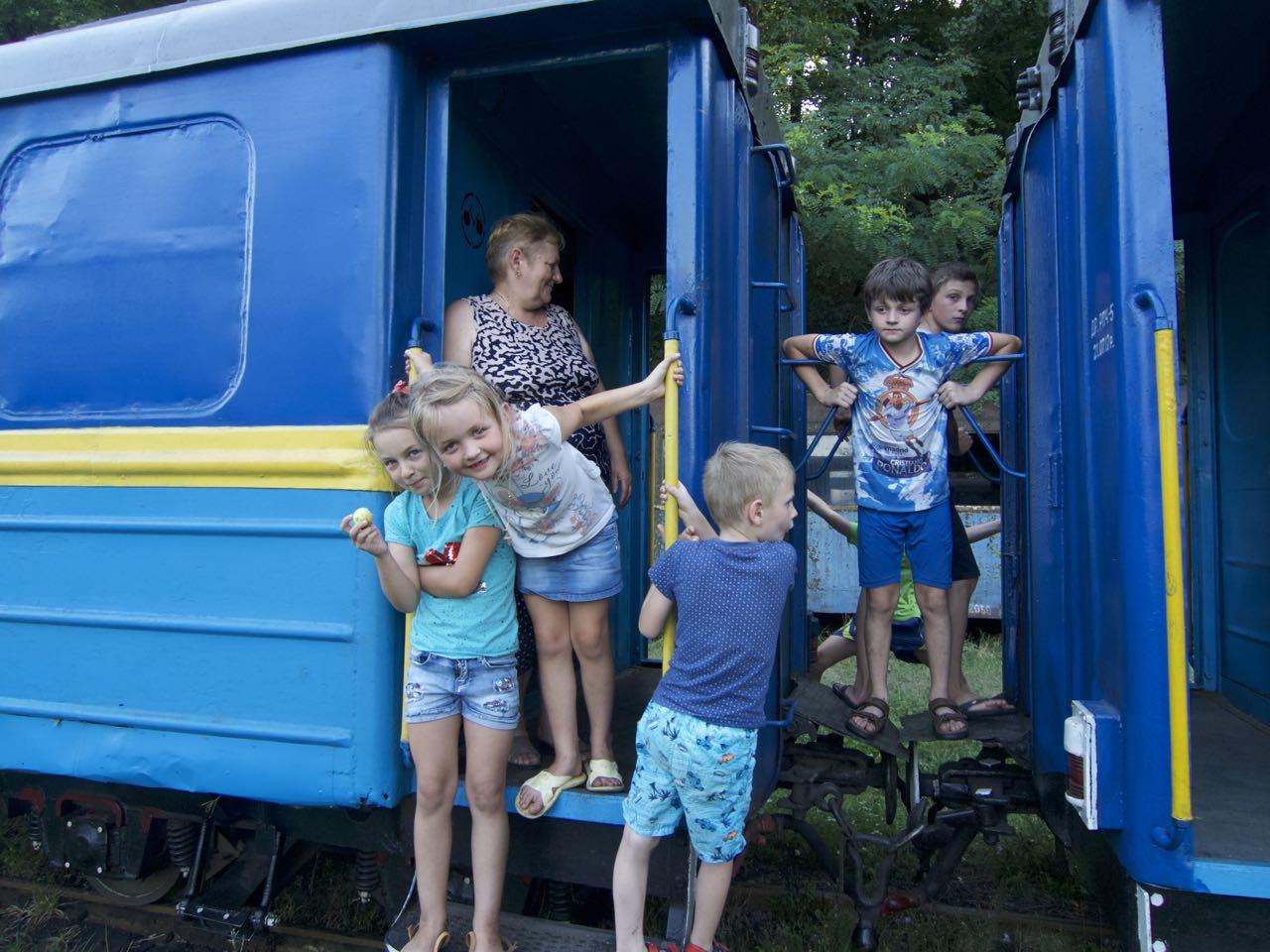 В Іршаві запуск Боржавської вузькоколійки викликав справжній ажіотаж (фото)