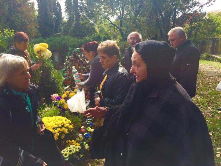 В Ужгороді вшанували річницю загибелі воїна Давида Гамсахурдії (фото)