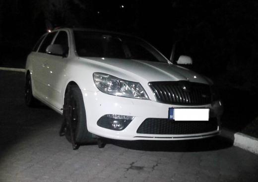 На Закарпатті знайшли викрадену у Словаччині автівку