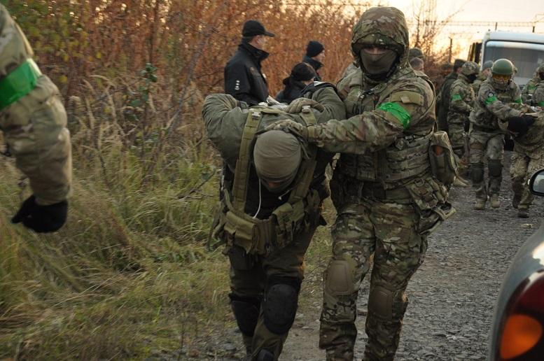 У Мукачеві СБУ провела планове антитерористичне навчання (фото)