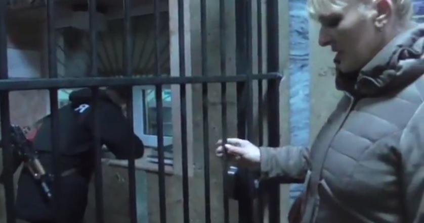"""Закарпатська журналістка звернулася до Генпрокурора із Печерської """"клітки"""" (відео)"""