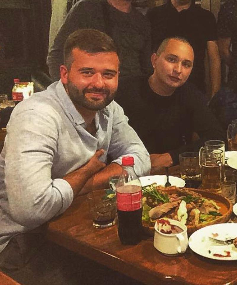 Оприлюднено фото сина Балоги з підозрюваним у підготовці теракту в Києві (фото)