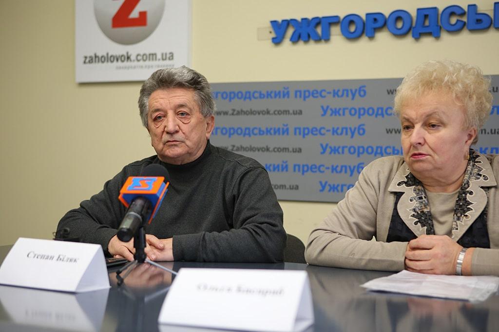 Про корупцію та бандитизм в закарпатській медицині розповіли в Ужгородському прес-клубі
