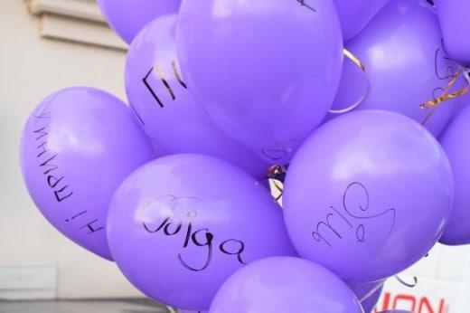 У центрі Ужгорода провели флеш-моб проти насильства