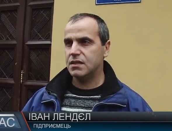 Мукачівський підприємець здолав терор місцевих муніципалів (відео)