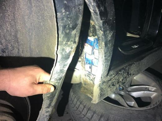 Через приховані цигарки митники вилучили у закарпатця автівку