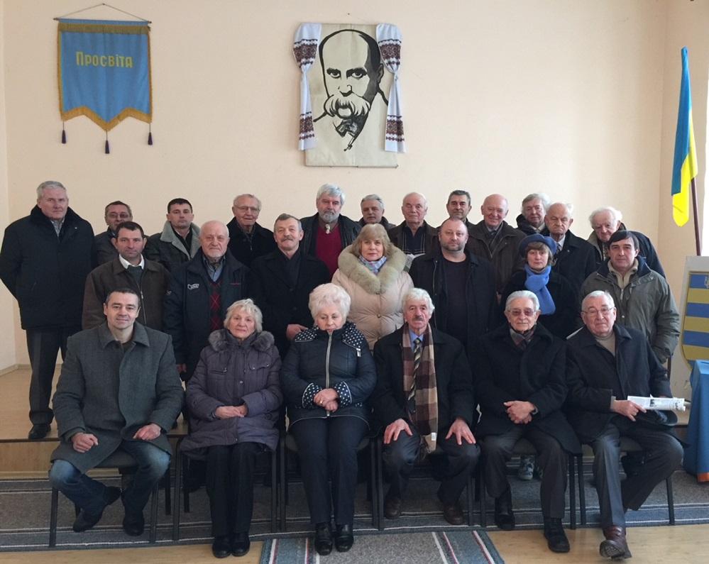 """В Ужгороді відзначили 27-му річницю відродження крайової """"Просвіти"""" (фото)"""