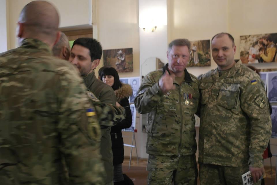 Закарпатські атовці взяли участь у вшануванні пам'яті захисників Донецького аеропорту (фото)