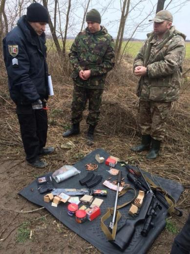 На Берегівщині правоохоронці впіймали браконьєрів