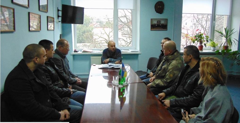 У Чопській місьраді обговорили житлові питання учасників АТО (фото)