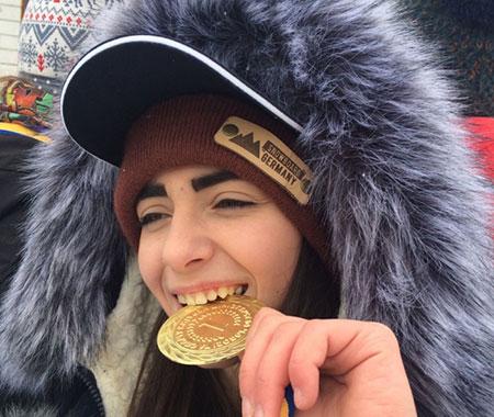 Ужгородська сноубордистка виборола золото на Чемпіонаті України