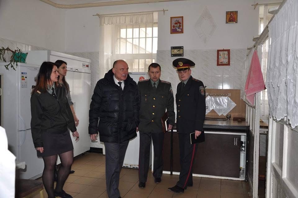 Ужгородську тюрму відвідало високопоставлене керівнитво (фото)