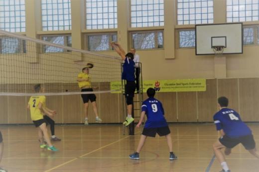 Закарпатські волейболісти – у четвірці найсильніших в країні