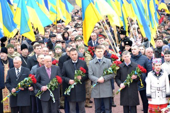 Закарпатці разом зі львів'янами, івано-франківцями та полтавчанами вшанували пам'ять Карпатських січовиків на Красному полі (фото)