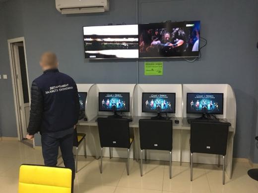 Правоохоронці припинили в Ужгороді діяльність чотирьох гральних закладів (ФОТО)
