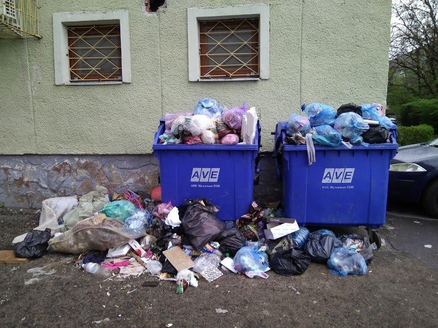 """Весняне Мукачево перетворюється у сміттєву """"столицю"""" краю (фото)"""