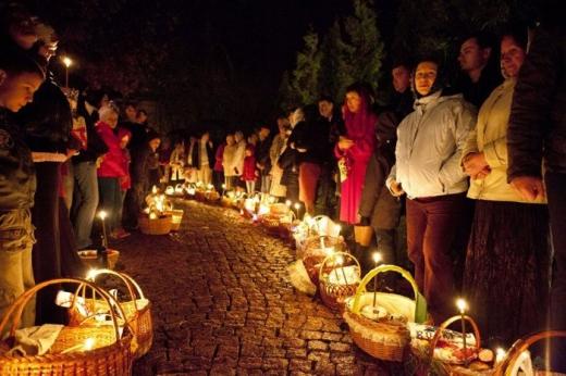 Пасхальні богослужіння та освячення пасок в Ужгороді (РОЗКЛАД)