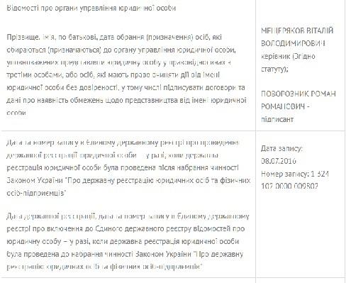 """Новий канал Балоги """"Сіріус"""" очолив колишній гендиректор """"Тиси"""" (документ)"""