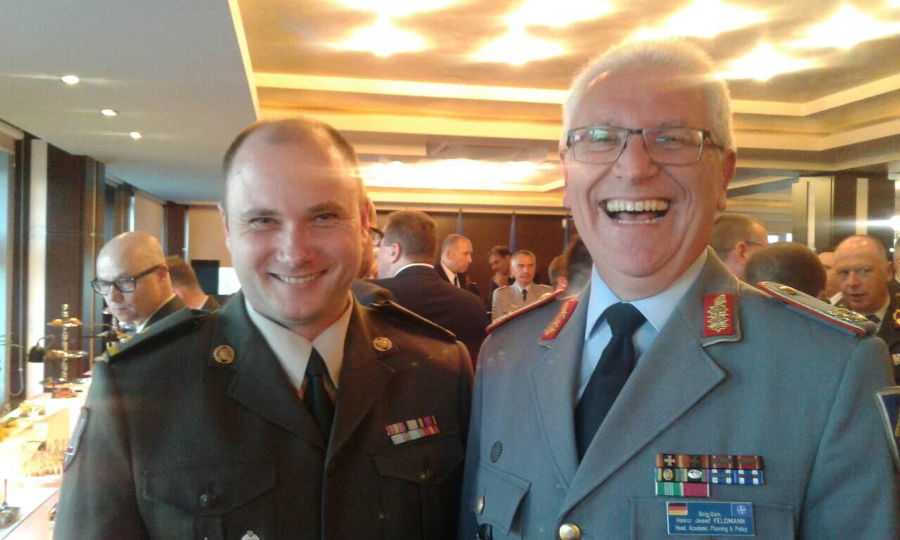 Закарпатський офіцер взяв участь у заході організованому представниками НАТО (фото)