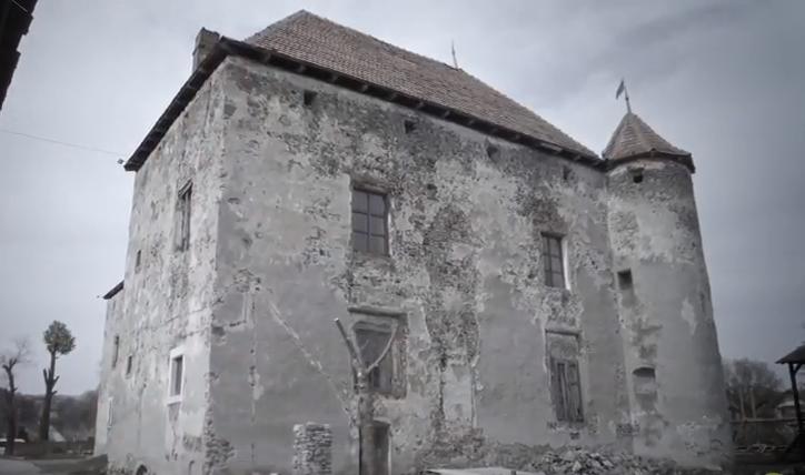 Нове відео про замок Сент-Міклош