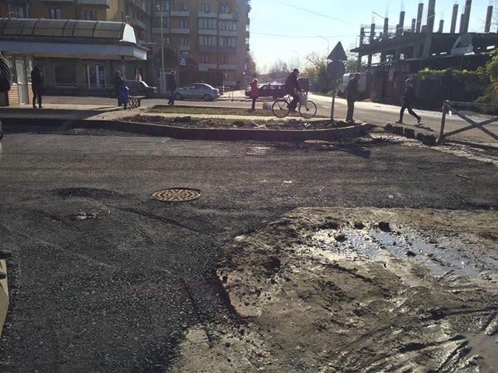 Ужгородська прокуратури розпочала кримінальне провадження щодо можливого заволодіння бюджетними коштами при ремонті вул. Капушанської