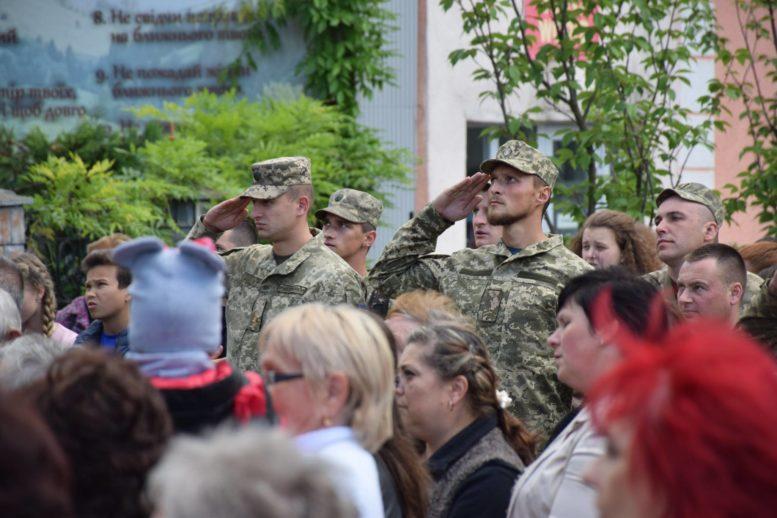 На Ужгородщині відкрили меморіал воїнам АТО (фото)