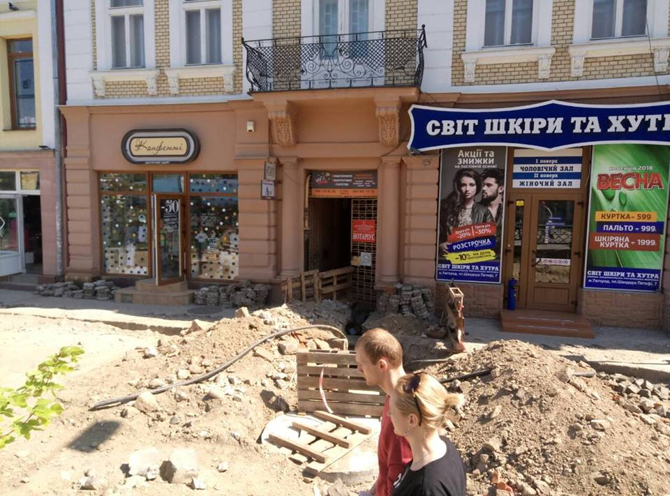 Ремонт площі Петефі в Ужгороді є ганебним прикладом розтрати коштів громади