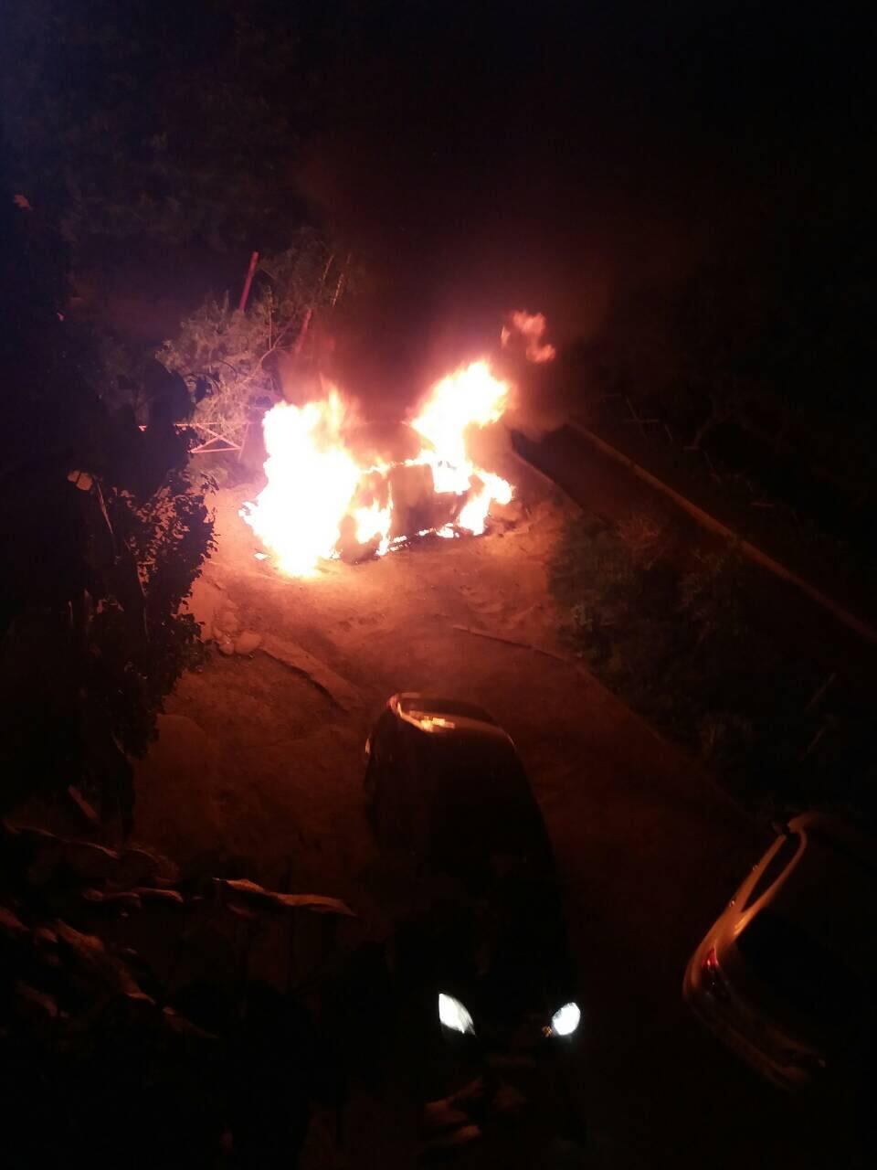 На Виноградівщині взято під варту підозрюваного у підпалі автівки