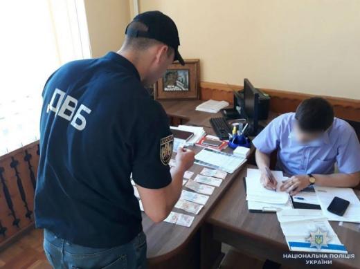 Мешканець Тячівщини намагався підкупити поліцейського