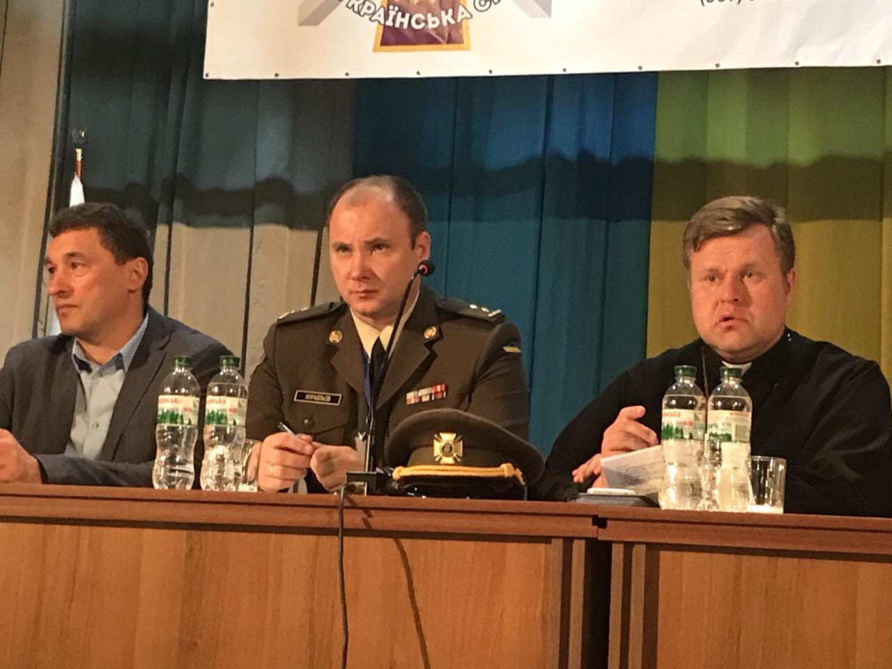 Закарпатський офіцер запропонував модель Міністерства у справах ветеранів війни