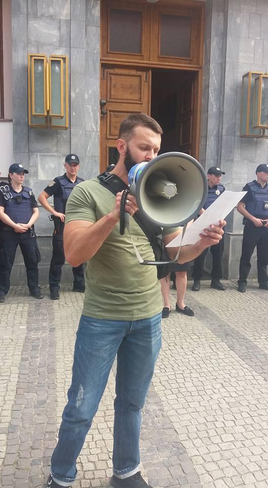 В Ужгороді протестували проти поліцейського насилля (фото)