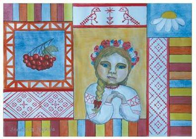 """В Ужгороді відкрилася експозиція """"Філософія орнаменту"""" тандему митців Ольги Гал та Анастасії Мошколи (фото)"""