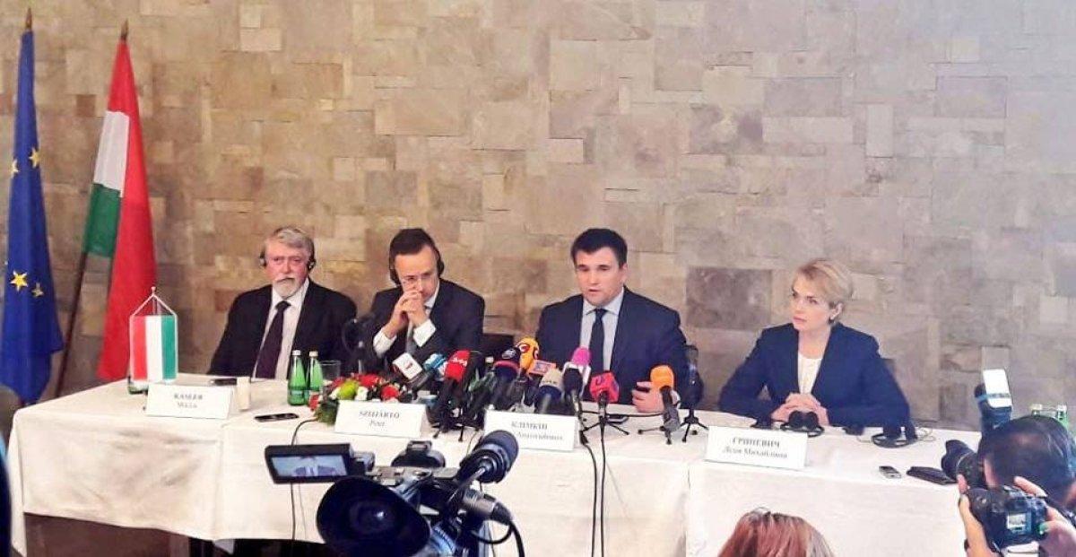 На Закарпатті відбулися українсько-угорські консультації щодо мовного закону за участі чотирьох міністрів (відео)