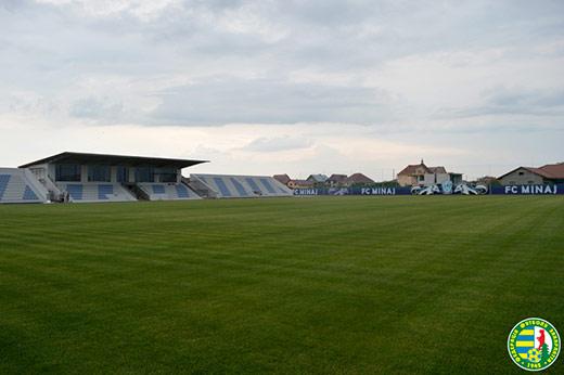 Цієї суботи в Минаї відкриють новий стадіон