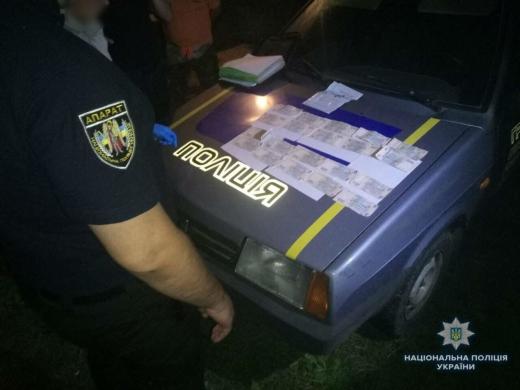 Закарпатець намагався підкупити поліцейського хабарем у 10 тисяч гривень