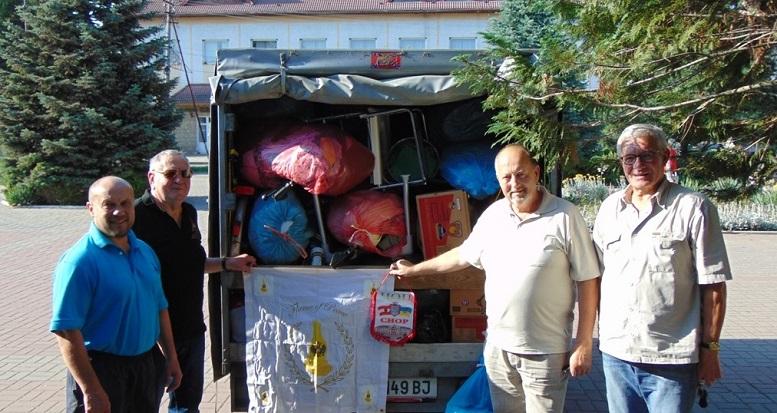 Чоп отримав гуманітарну допомогу з Австрії (ФОТО)