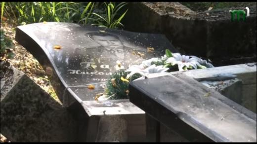 """Вандали пошкодили півтора десятка пам'ятників на кладовищі """"Кальварія"""" в Ужгороді"""