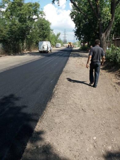 На Ужгородщині розпочали капітальний ремонт дороги «Ужгород – Демечі»