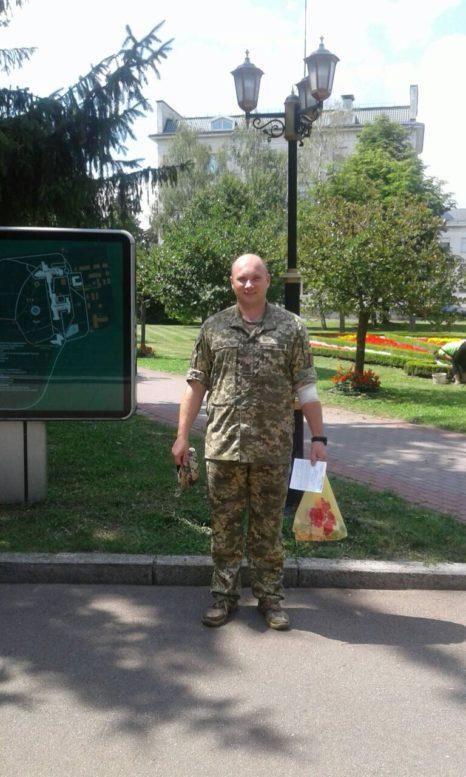 Підполковник з Ужгорода Микола Журавльов став донором (фото)
