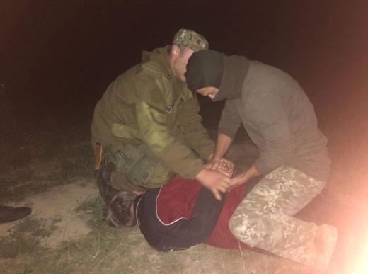 На Ужгородщині затримали нелегалів разом з переправником