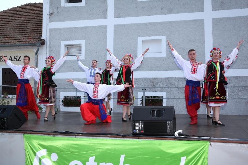 Танцювальний ансамбль Ужгородського коледжу культури і мистецтв «Кольори Карпат» дав концерт в Угорщині (фото)