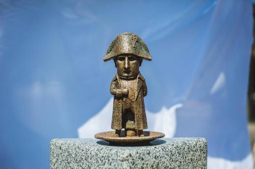 Ще одна міні-скульптура з'явилася в Ужгороді
