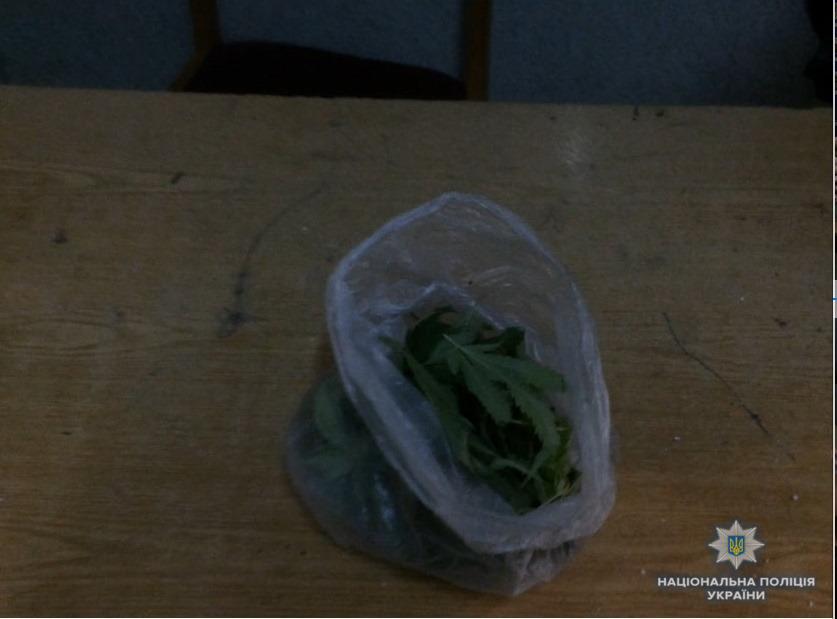 На Хустщині у п'яного чоловіка, що сидів посеред дороги, знайшли ще й наркотики